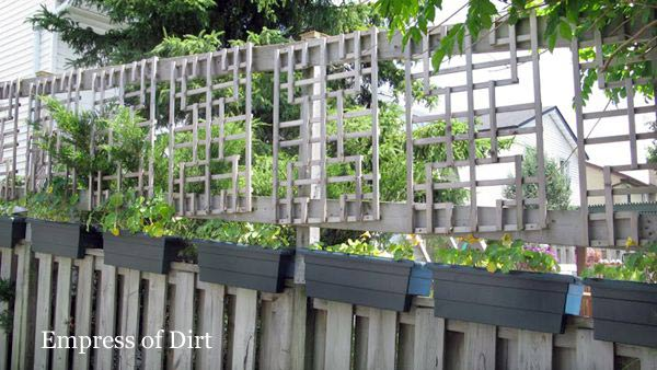 lean to screen panels how to make a fence taller empress of dirt