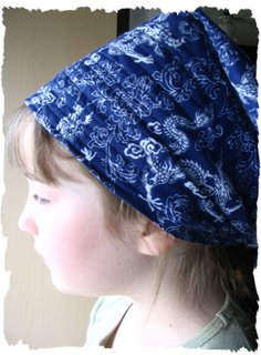 Easy-Sew Garden Headscarf