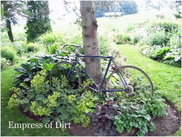 Wheels In the Garden