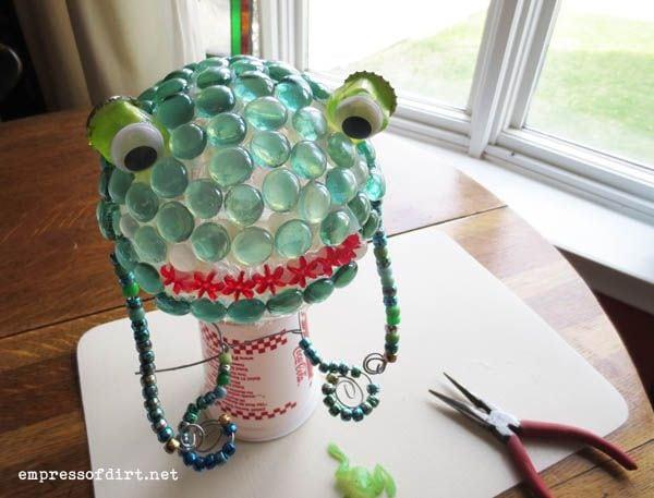 Frog Prince Garden Art DIY