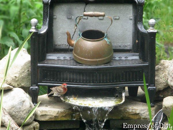 how to make a fish pond pump