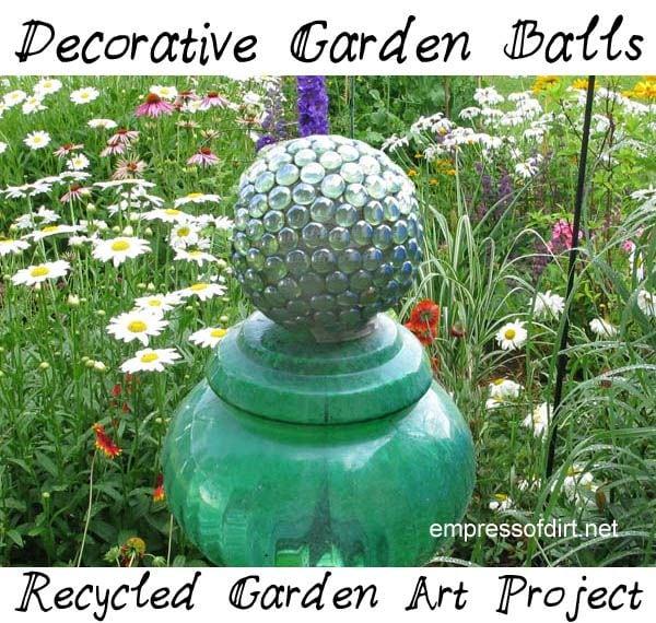 Garden Art Projects Photograph Glass Gem Garden Art Craf