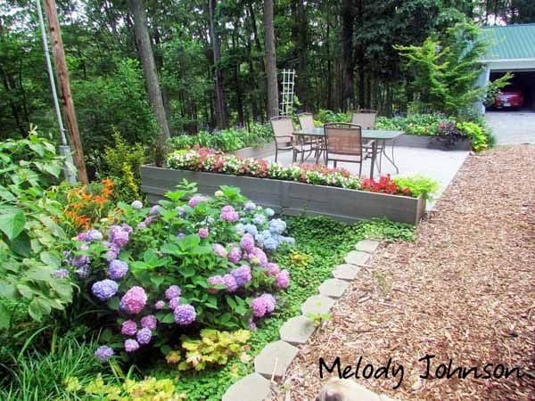 Melody Johnson Home Garden Tour