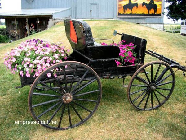 30 Garden container ideas | Buggy planter