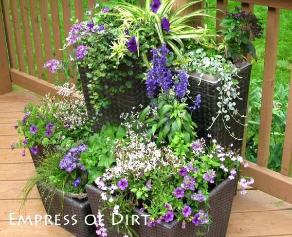Garden Container Ideas gardening ideas for flowers garden container 30 Garden Container Ideas