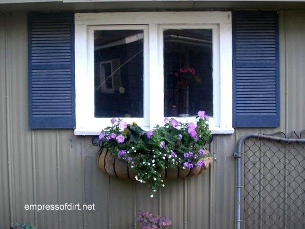 30 Garden container ideas | Window box