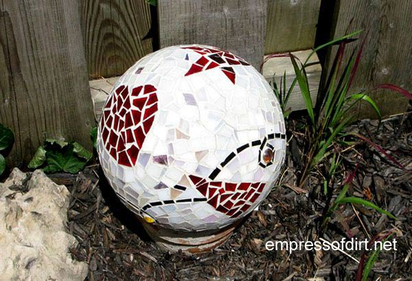 Garden Balls Decorative Magnificent Garden Ball Idea Gallery  Empress Of Dirt Review
