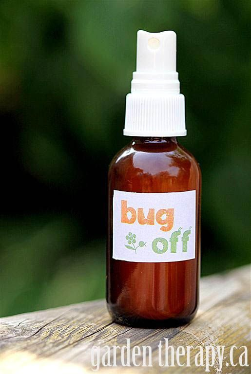 Great garden party ideas: Make natural bug spray for your guests via http://gardentherapy.ca