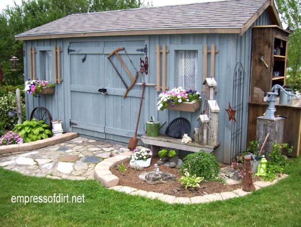 Gallery of Charming Garden Sheds