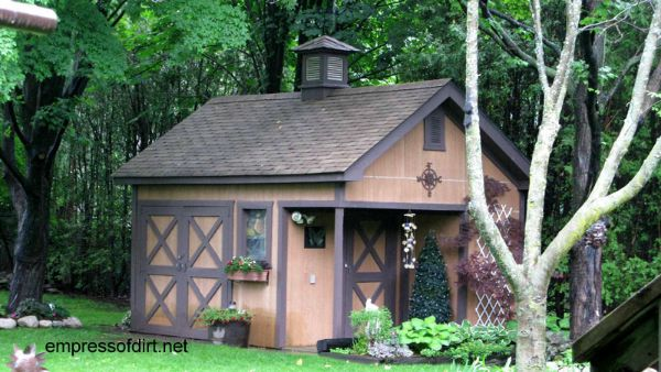 Ideas For Garden Sheds garden shed via cathy what is old is new Gallery Of Best Garden Sheds