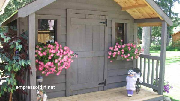 Charming Garden Sheds From Rustic to Modern Empress of Dirt
