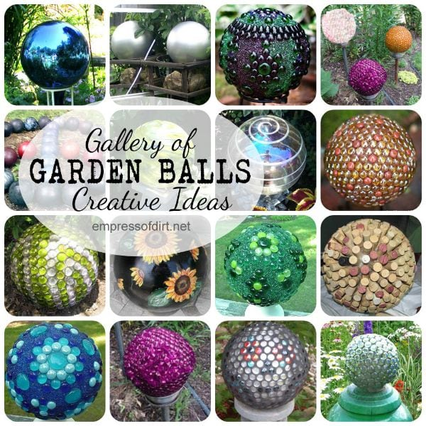 Gallery of DIY Creative Garden Ball Ideas