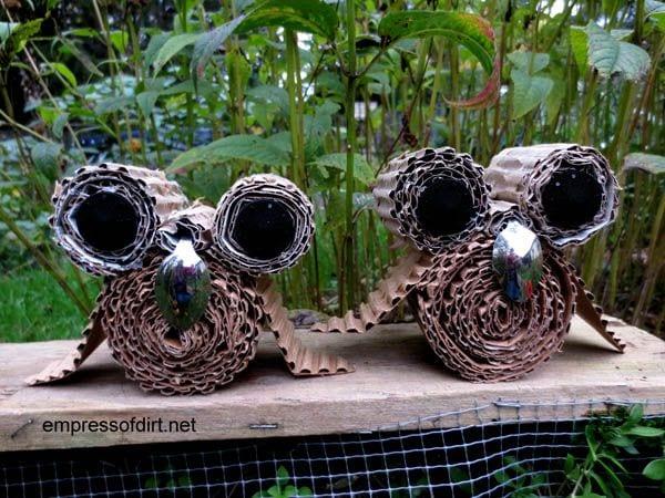 Owl babies - owl craft project -www.empressofdirt.net