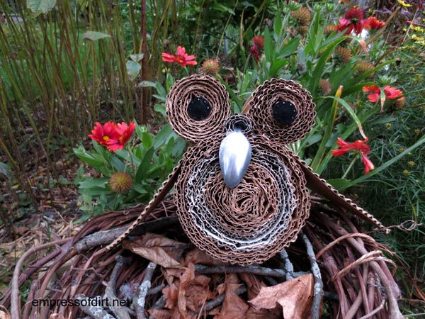 Mama owl - owl craft project -www.empressofdirt.net