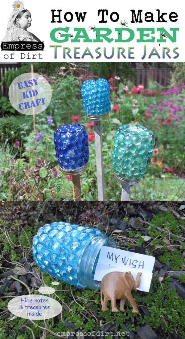 How To Make Garden Treasure Jars