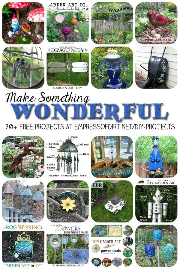 Make something wonderful: 20+ DIY Projects by empressofdirt.net/diy-projects