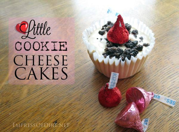 Little Cookie Cheese Cakes