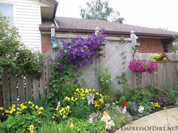 25+ Creative Ideas For Garden Fences | Living art