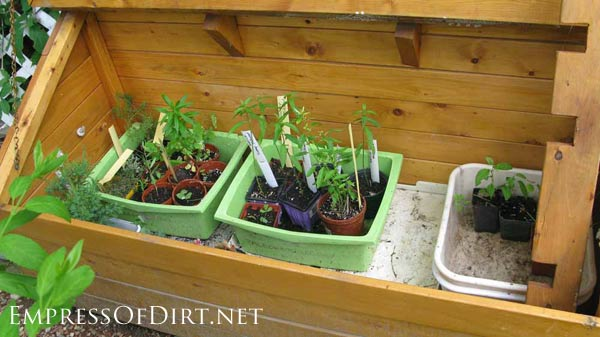 20+ Ideas for your home veggie garden - raised bed cold frame