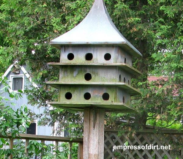 Gallery of creative birdhouse ideas at empressofdirt.net