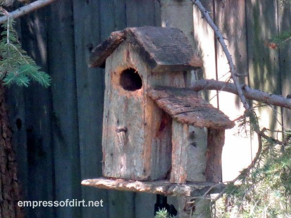 See a gallery of birdhouse ideas including rustic birdhouses / Empress of Dirt